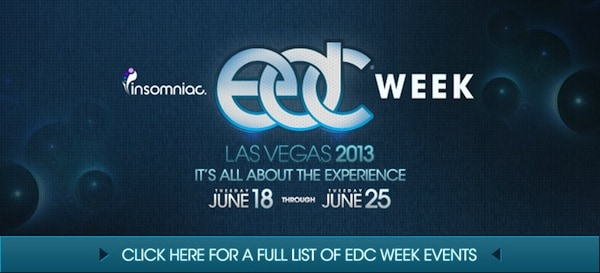 EDC Lineup and Schedule