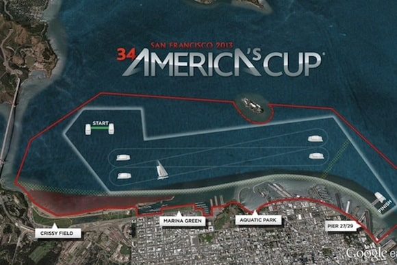 Americas Cup San Francisco Opening Weekend