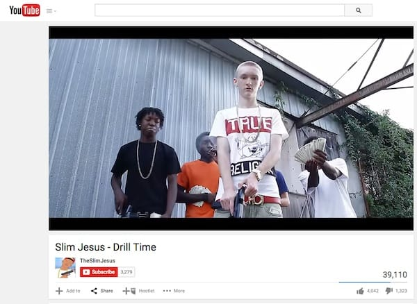 Slim Jesus Viral Video Drill Time