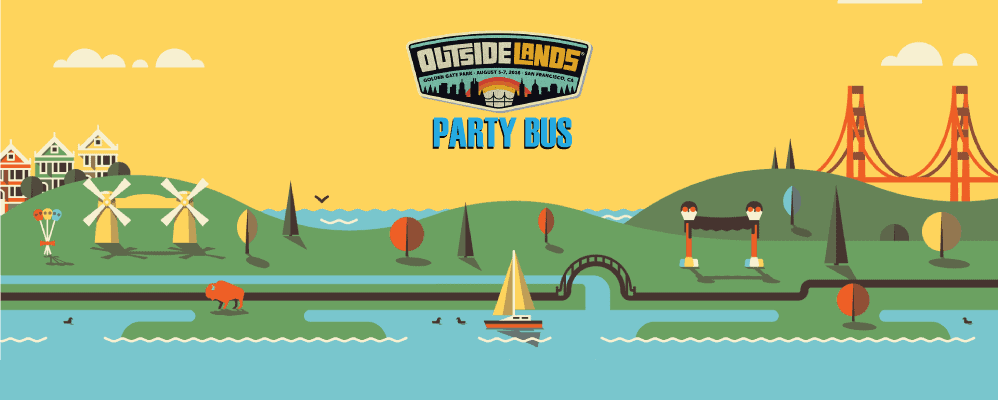 Outside Lands Party Bus 2016