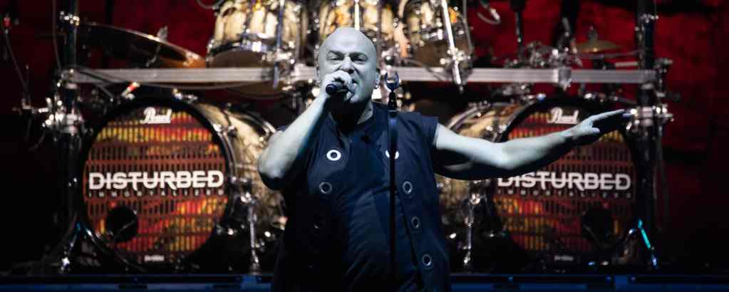 Disturbed at Shoreline Amphitheater