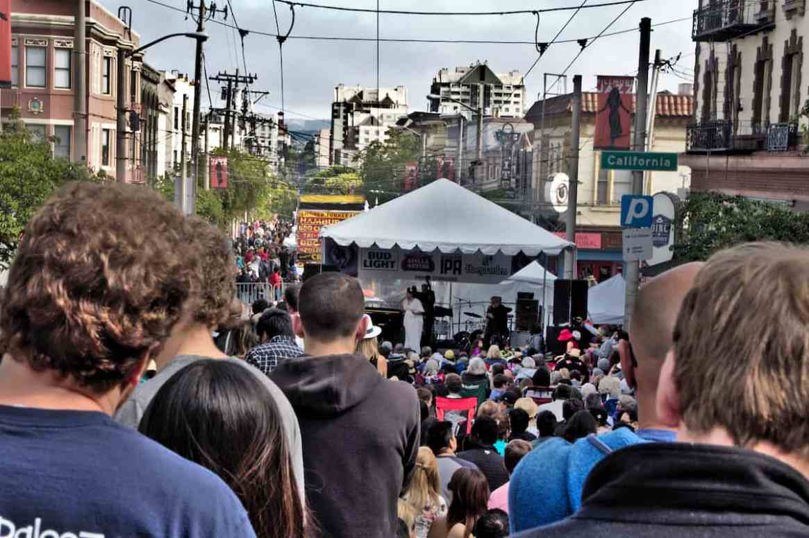 Fillmore Jazz Festival in San Francisco, California