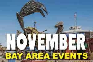 Top events in the San Francisco Bay Area in November
