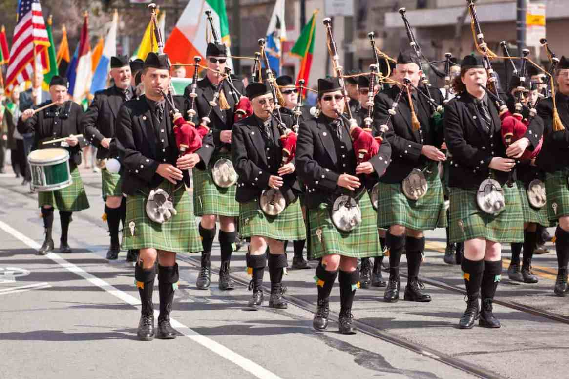 St. Patrick's Day Parade in San Francisco, California