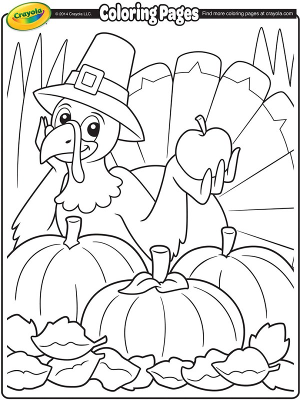 coloring pages turkey # 13