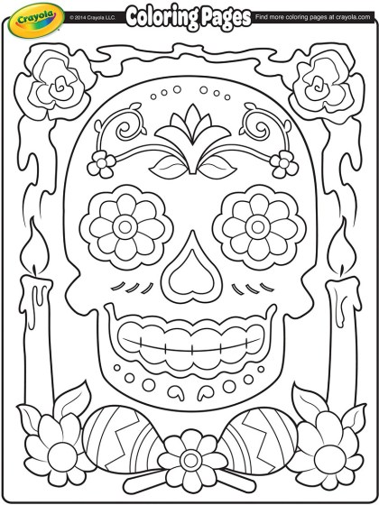 Aztec Medallion Coloring Page
