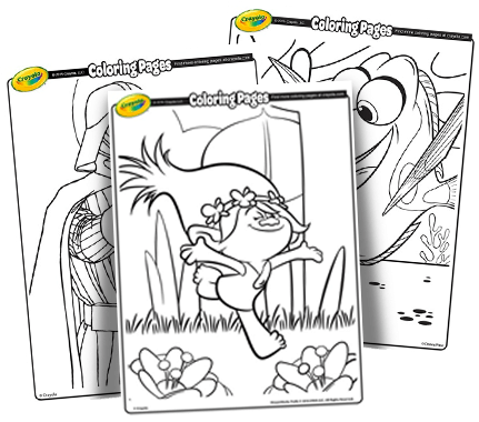 Coloring Book For Kids With Guide