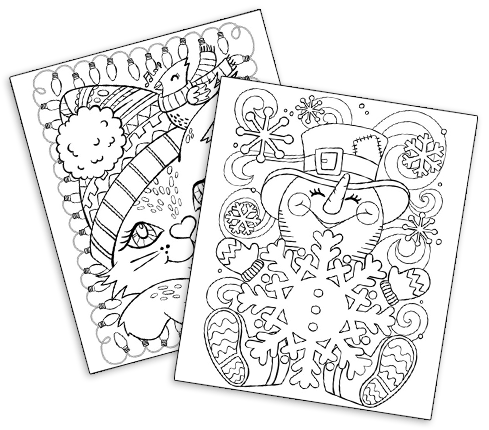 January Coloring Pages 2nd Grade