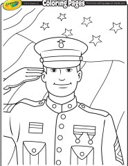 <b>Veterans</b> <b>Day</b> Soldier <b>Coloring</b> <b>Page</b> | crayola.com