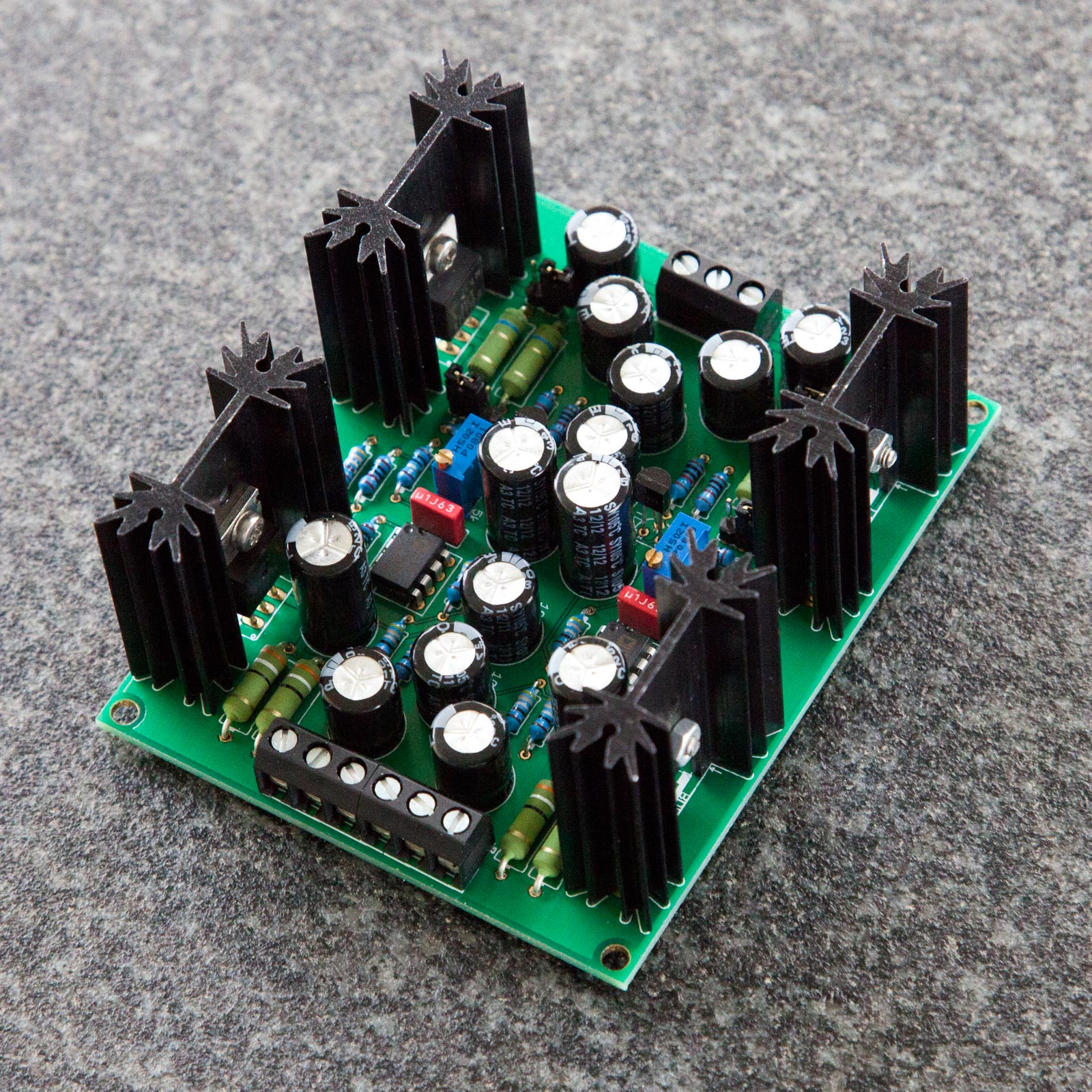 Power Supply Crazy Audio Part 2 Using Lm 317 Lm337 Electronic Circuits And Diagram Shunt Regulator Page Update