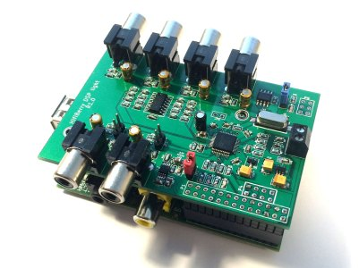 Raspberry Pi and HiFiBerry DSP Light