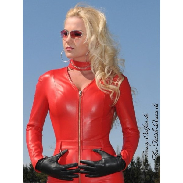 Leather Catsuit 4-013 Crazy-outfits - Webshop