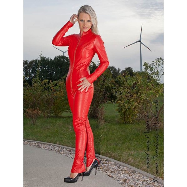 Leather Catsuit 4-019 Crazy-outfits - Webshop