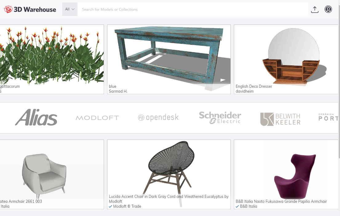 免費Sketchup模型下載,3D模型庫一鍵匯入 - 天天瘋後製-Crazy-Tutorial
