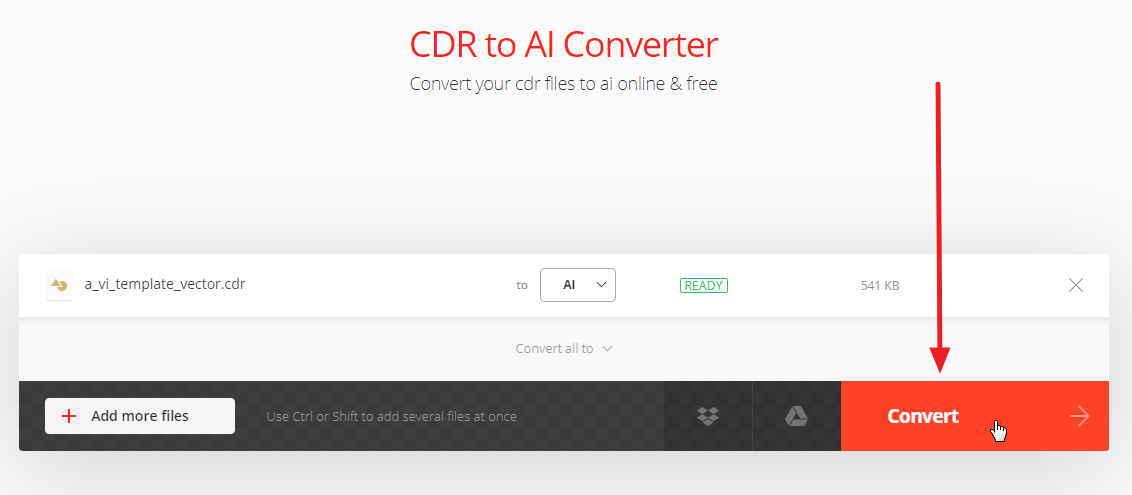 教你如何把CDR 轉 AI檔,線上免費轉換器 - 天天瘋後製-Crazy-Tutorial