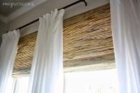 bamboo roman shades