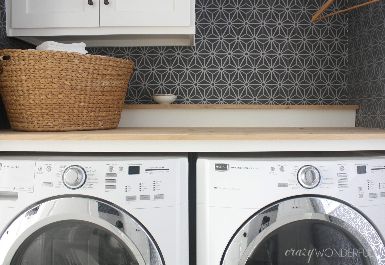 - DIY Built In Washer + Dryer - Crazy Wonderful