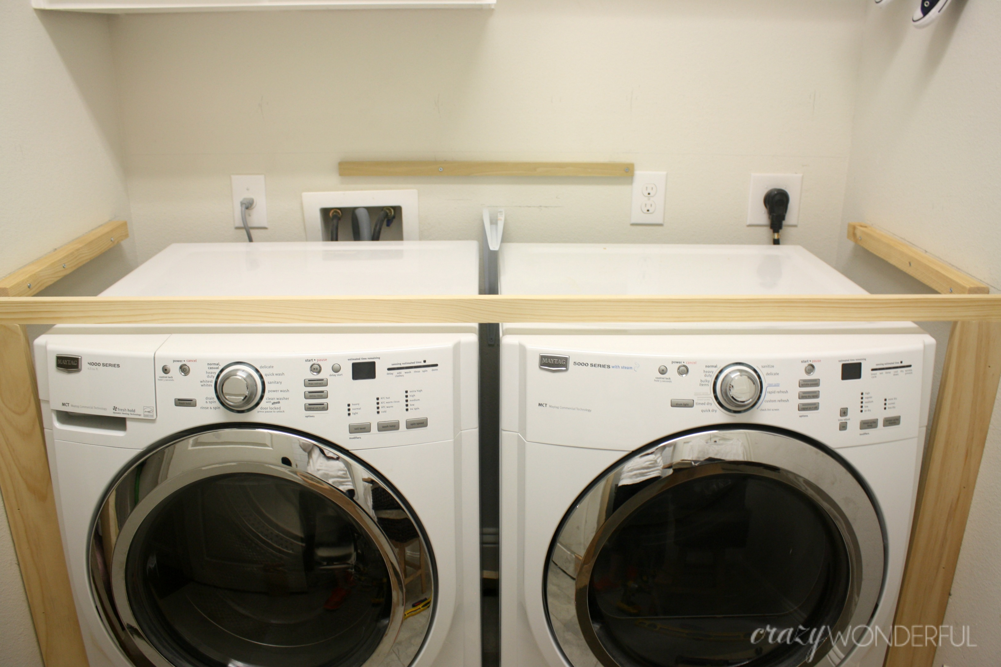 Diy Built In Washer Dryer