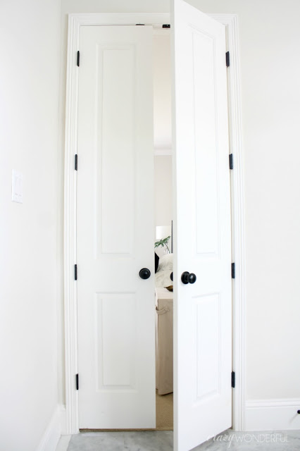 Black Door Hinges Installed Crazy Wonderful