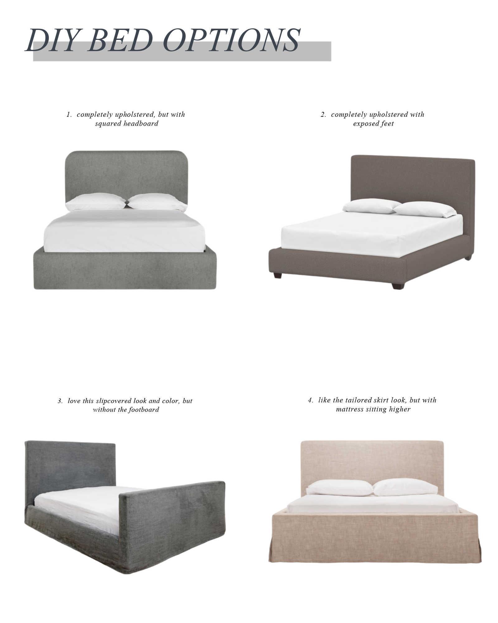 DIY bed options