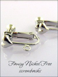 Clip On Earring Findings. Huge selection of clip findings ...