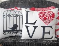 Valentine Pillow Covers | Crazy4Embroidery.com