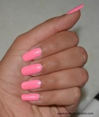 Revlon Nail Art Neon Nail Enamel: Atomic Pink Review, NOTD ...