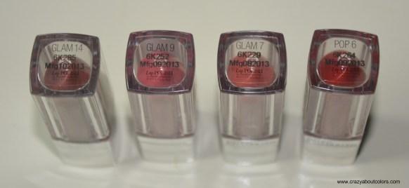 Maybelline lip polishes