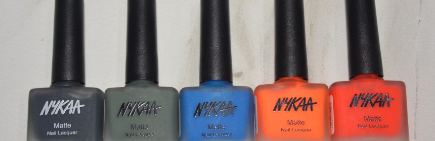 Nykaa Nail Polish Collection