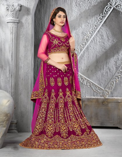 colors of wedding lehenga
