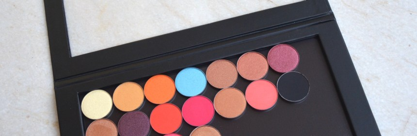 PAC Cosmetics sparkle eyeshadows