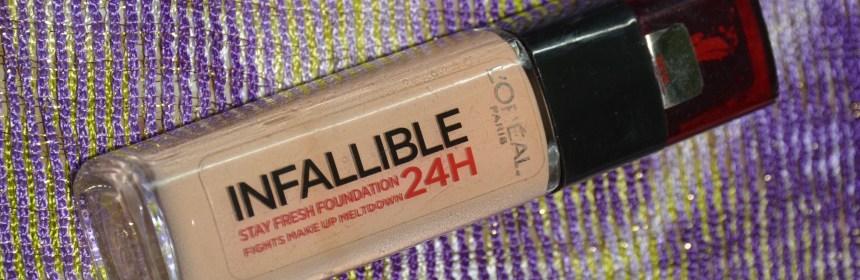 L'Oreal Paris Infallible 24h Foundation
