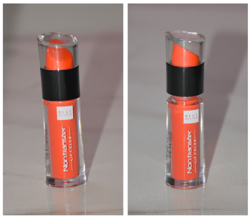 Blue Heaven Non Transfer Lip Color Sunset Orange