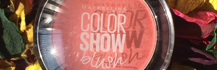 Maybelline Color Show Blush Peachy Sweetie