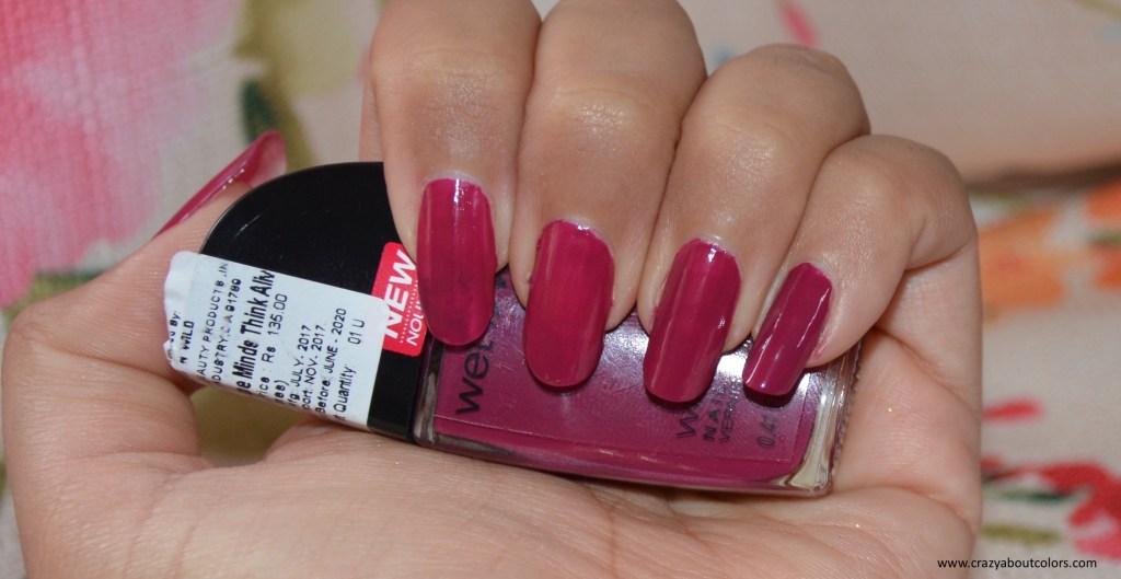 Wet n Wild Wild Shine Nail Color Grape Minds Think Alike