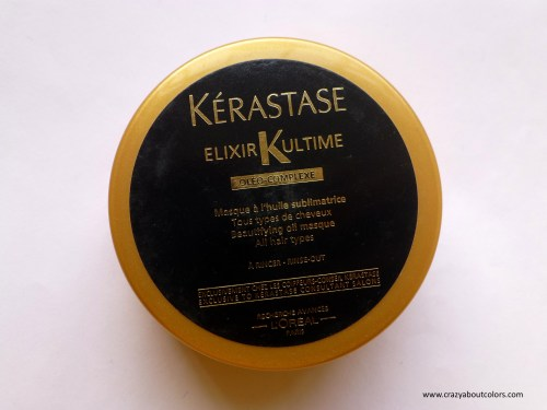 Kerastase Elixir Ultime Beautifying Oil Masque