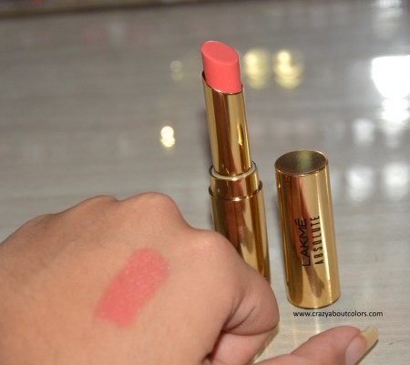 Lakme Absolute Argan Oil Lip Color Peaches N Cream