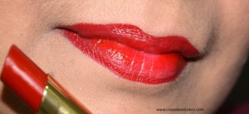 Lakme Absolute Argan Oil Lip Color Crimson Silk