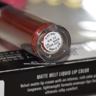 Matte Melt Liquid Lip Color Red Smoke