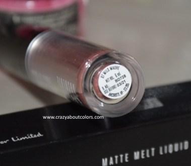 Lakme Absolute Matte Melt Liquid Lip Color Mild Mauve
