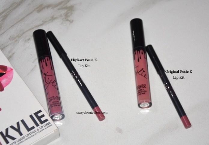 Kylie Lip Kit From Flipkart