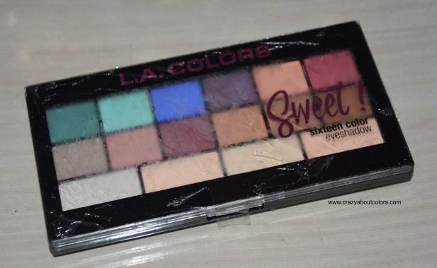 LA Colors Eyeshadow Palette Playful