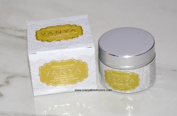 Rose and Olive Face Cream