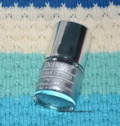 DeBelle Gel Nail Lacquer Chrome Silver
