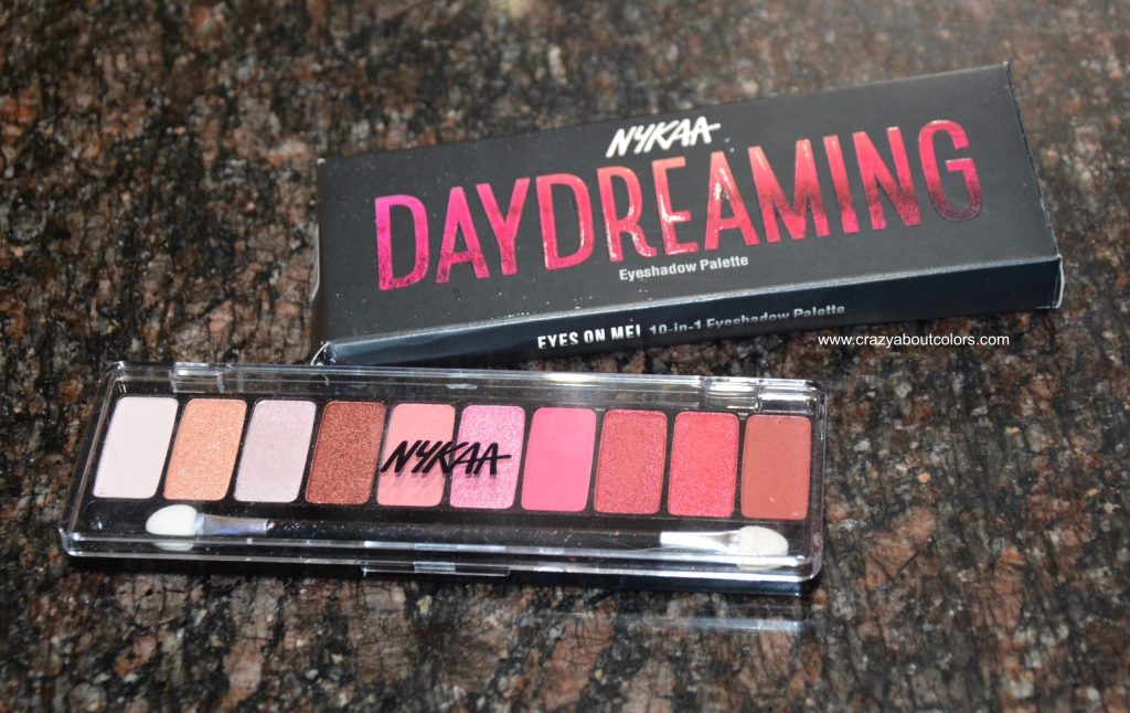 Nykaa Eyeshadow palette Daydreaming