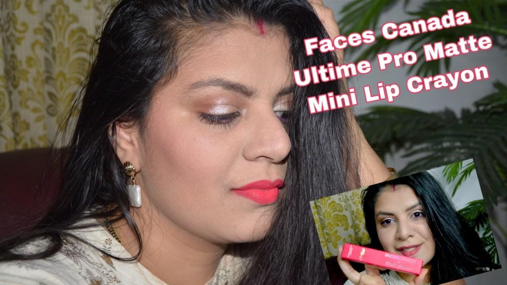 Ultime Pro Matte Mini Lip Crayon