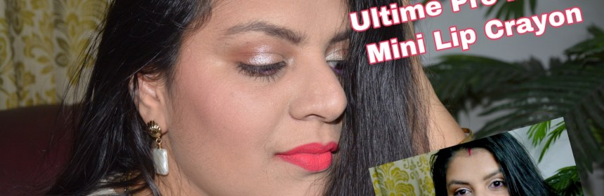 Ultime Pro Matte Mini Lip Crayon
