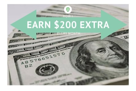 Earn an Easy Extra $200 a Month