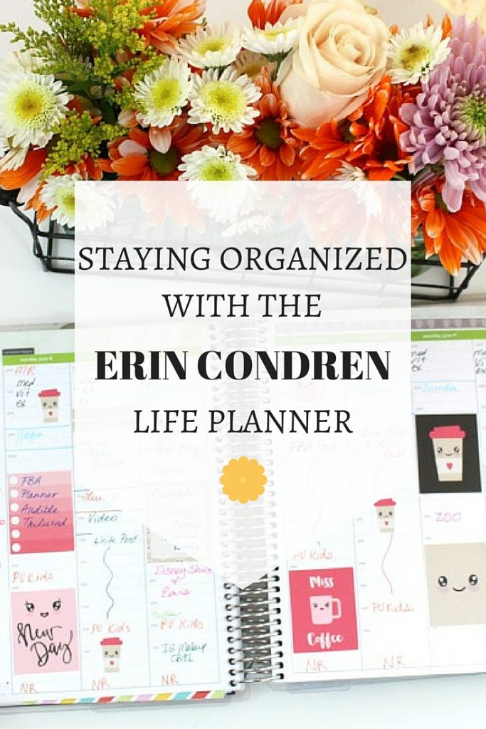 How I use an Erin Condren Life Planner and why I recommend it. Click through to read more or pin now and read later.