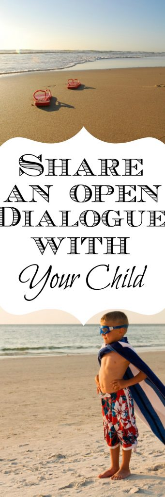 Creating an open line of communication is important parenting advice for creating a strong bond with your child. I ask these three quesitons to my kids every night. Click through to read more or pin now and read later.